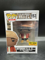 Funko Pop Notorious B.I.G. Hot Topic Exclusive #153 MINT Condition New