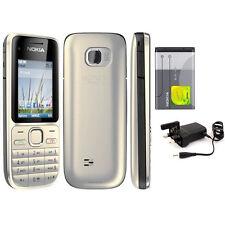 Nokia C2-01 (Unlocked) Mobile Phone 3G Camera FM MP4 Cheap bar phones Grade A+