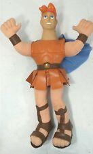 "Rare Disney Applause Super Hero HERCULES Gladiator 17"" DOLL Plush Toy Figure"