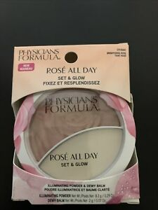 """Physicians Formula Rose' All Day Set and  Glow Powder """"Brightening Rose"""""""
