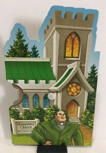 CLUE MYSTERIES Game Replacement Part REV GREEN HAMPSHIRE CHURCH Character Wheel