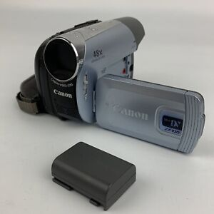 Canon ZR930 miniDV cassette 37x Zoom Camcorder UNTESTED FOR PARTS NOT WORKING
