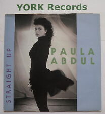 "PAULA ABDUL - Straight Up - Excellent Condition 7"" Single Siren SRN 111"