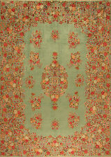 Tappeto orientale Genuino Sottile Persiano Annodato A Mano no. 4227 379x272 cm
