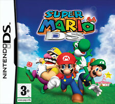 Super Mario 64 DS Game DS DSi 3DS 3DSXL PAL FORMAT + FREE Accessory