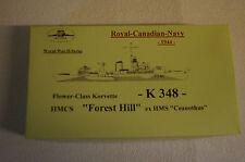 HP Models 1:700 Waterline  - kanad. Flower-Class Korv.  K-348 Forest Hill -1944-