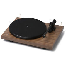 Pro-Ject Debut RecordMaster Turntable Walnut - ProJect Record Vinyl Player Wood