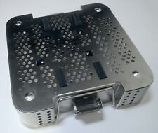 Hitachi Aloka Medical Perforated Sterilization Tray Instrument Container Case