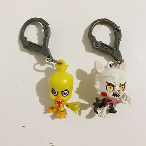 2 x Five Nights At Freddys Collector's Bag Clips Lot