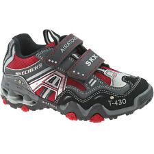 Chaussures gris en synthétique Skechers pour garçon de 2 à 16 ans