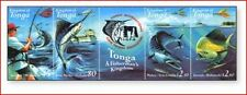 TON0104 Fishes 4 stamps