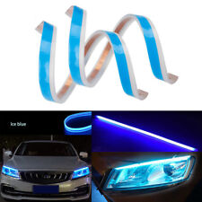 60CM Flexible Flowing Car LED Strip Light DRL Daytime Running Lamp Turn Signal