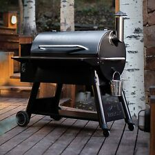 Traeger Grill Pro Series 34 BBQ Pellet Outdoor Cooking Portable 6 In 1 Barbeque
