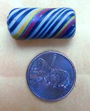 Ancient Pre Majapahit Jatim Swirled Striped Rainbow Pelangi Bead 250BC-1000AD1