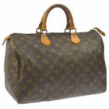 LOUIS VUITTON SPEEDY 35 HAND BAG MONOGRAM PURSE M41524 VINTAGE bo A44013j