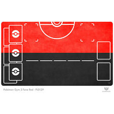 Pokémon Gym 2-Tone Red Playmat (PL0129)