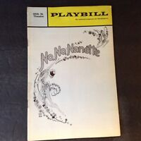 Vintage August 1971 No No Nanette Playbill 46th Theatre