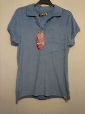 3 ( NEW WITH TAGS ) A LOVELY WOMBAT BLUE SHORT SLEEVE  T-SHIRT SIZE MEDIUM