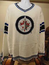 NHL Winnipeg Jets Men's White Crew neck sweater  XXL