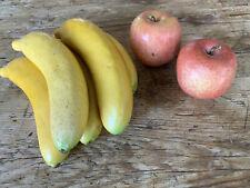 Fake Fruit Artificial Apples Bananas LifeLike 7 Pieces Film Props Look So Real