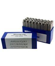 Monogram Upper Case Letter Punch Set 6mm 27pcs Eurotool