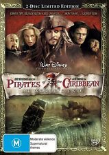 Pirates Of The Caribbean - At World's End (DVD, 2007, 2-Disc Set) (D105)