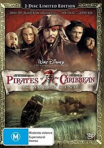 Pirates Of The Caribbean - At World's End (DVD, 2007, 2-Disc Set)