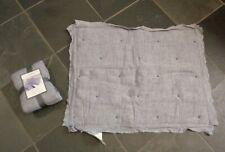 Threshold 2 Standard Linen Blend Tufted Shams 20x26 Blue 55% Linen 46% Cotton