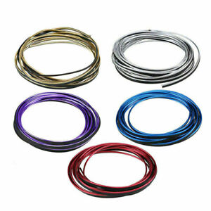 5m/16.4ft CAR Auto Colorful Interior Moulding Trim Strip Cap Line Tape Decor ABS