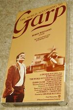 THE WORLD ACCORDING TO GARP VHS, NEW AND SEALED, RARE!, WITH ROBIN WILLIAMS