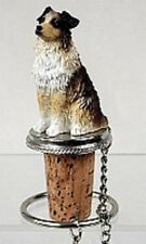 Australian Shepherd ~ Brown Docked ~ Wine Stopper