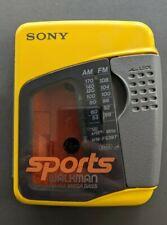 Vintage Rare Sony Wm-Fs397 Sports Walkman Am/Fm Cassette Player