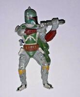 STAR WARS ROTJ Bounty Hunter Boba Fett Action Figure 1:18 Scale FIGURINE PVC