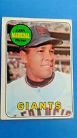 1969 Toops Baseball Juan Marichal San Francisco Giants Card # 370 HOF