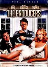 NEW DVD // The Producers // Nathan Lane, Matthew Broderick, Uma Thurman, Will Fe