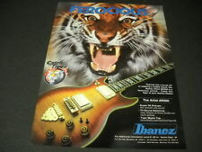 IBANEZ Guitar AR300 Ferocious as a Tiger 1981 PROMO DISPLAY ADVERT mint cond
