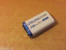 ★ PILES BATTERIE RECHARGEABLE - Accu Battery Pile Accus - 9V - Li-ion 780Mah ★