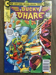 BUCKY O'HARE # 2 VF+ NEWSSTAND EDITION LARRY HAMA CONTINUITY COMICS 1991
