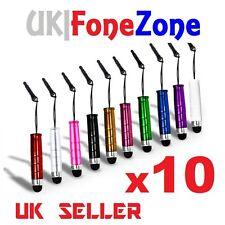 10x Mini Stylus Lápiz Táctil para iPhone Samsung Sony Htc LG teléfonos tabletas iPad
