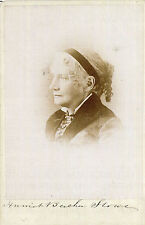 HARRIET BEECHER STOWE Signed Photograph - Author / Writer / Literature preprint