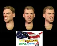 Facepoolfigure 1/6 Soldier Male angry Head Sculpt for 12'' figure HOT TOYS ❶USA❶