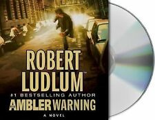 The Ambler Warning by Robert Ludlum CD AUDIOBOOK UNABRIDGED
