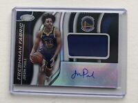 2019-20 Panini Certified Jordan Poole Freshman Fabric Rookie Patch Auto RPA RC!