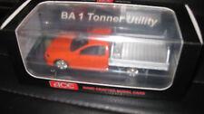 1/43 ACE MODEL CARS FORD FALCON BA 1 TONNER UTE BLOOD ORANGE LTD EDITION