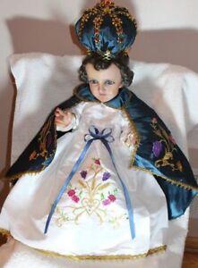 Vestido Nino Dios, Ropa Niño Dios, Ropa Nino Dios, La Candelaria Talla #25