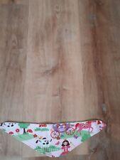 Baby Halstuch Sabbertuch ca. 38  cm mit Druckknopf Prinzessin wunderschön