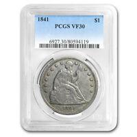 1840-1873 Liberty Seated Dollar VF PCGS/NGC - SKU#114850