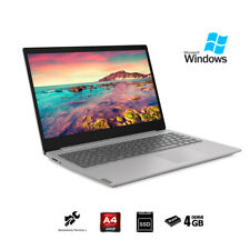"Notebook Lenovo Silver pc portatile 15,6""AMD A4,Ram 4Gb,SSd 256Gb,Windows 10 Pro"