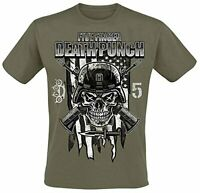 Global Merchandise Five Finger Death Punch Infantry Special Forces T-Shirt Ar...