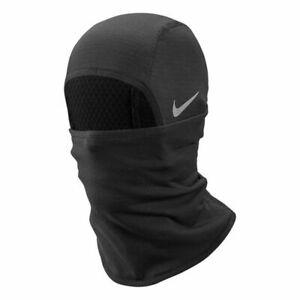 Nike Neck Warmer Mens -Black Thermal  SPHERE HOOD Fleece Snood Football One Size